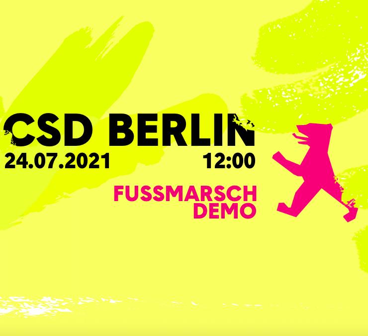 CSD 2021: Datum steht!