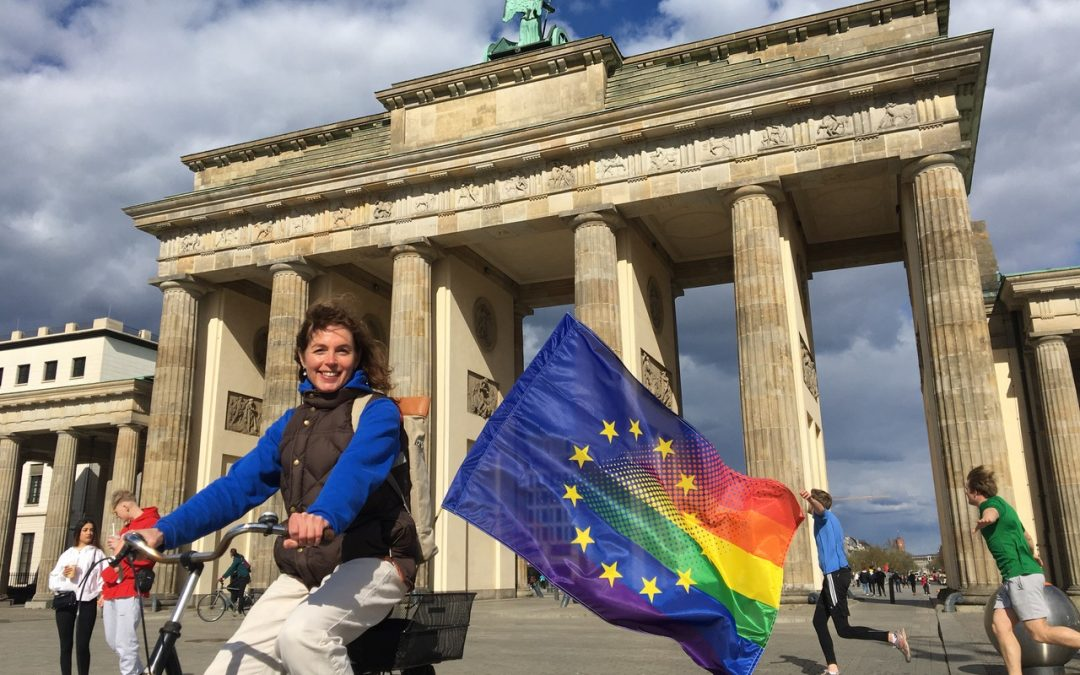 9. Mai 2021 – Flagge zeigen für Europa
