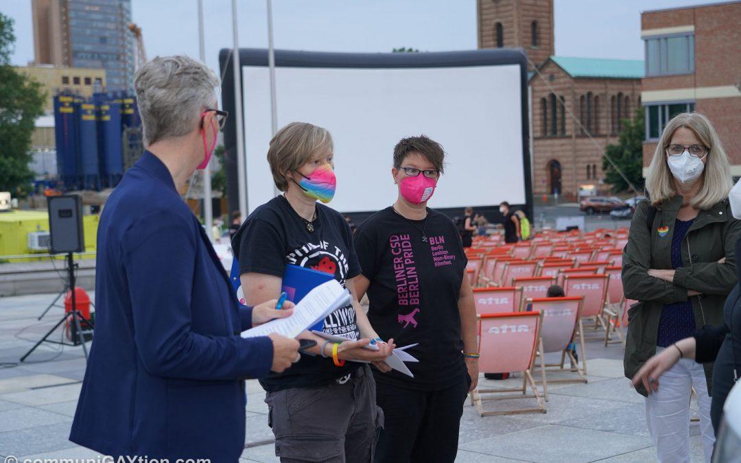 Ausverkauft! Lesbische Sichtbarkeit auf dem BLN Filmfest!