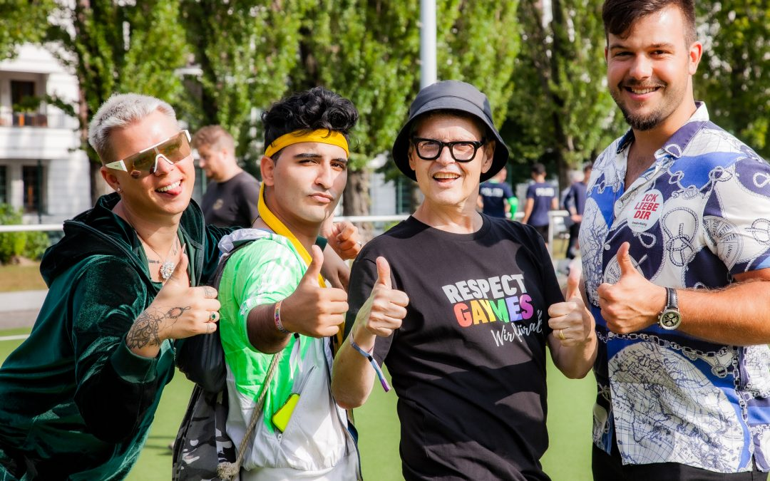 16. Respect Gaymes im Friedrich-Ludwig-Jahn-Sportpark