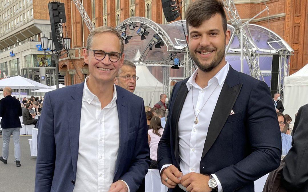 Gemeinsam erfolgreich gegen Corona: Danke Berlin!
