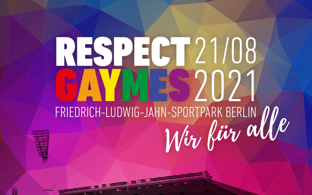 16. Respect Gaymes im Jahn-Sportpark